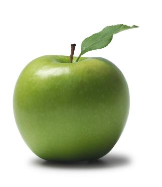 La manzana sana es símbolo de una boca sana para la clinica dental Segura Palau en Castellón